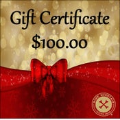 Image of GIFT CERTIFICATE -$100- The perfect gift!