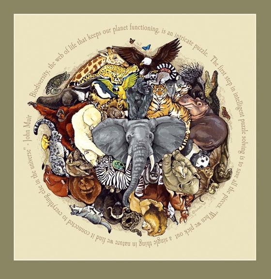 Image of Biodiversity Puzzle print