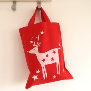 Image of Reindeer Christmas Gift Bag