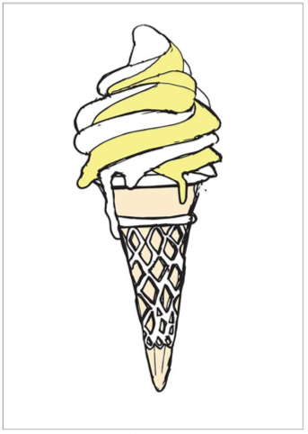Image of Mr Whippy Limited Edition Print