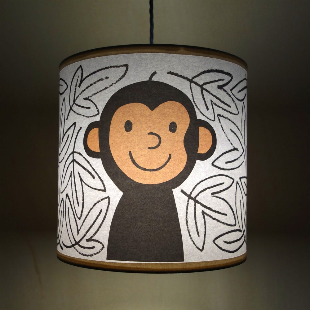Image of Lampshade | Monkey