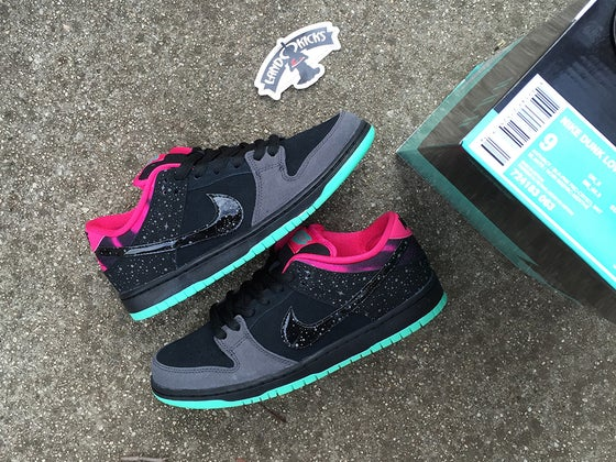 Image of Nike Dunk Low Premium SB AE QS 'Northern Lights'