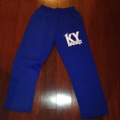 Image of KY Raised KY Blue & White Sweatpants