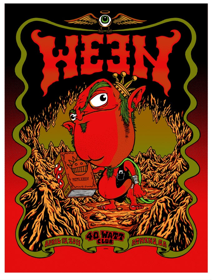 Image of WEEN @ 40 WATT CLUB, GA - 2011