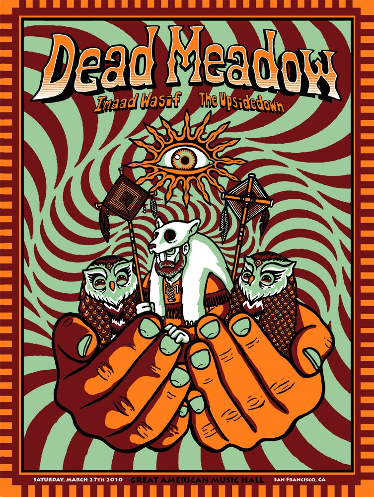 Image of DEAD MEADOW @ GREAT AMERICAN MUSIC HALL (SF) - 2010