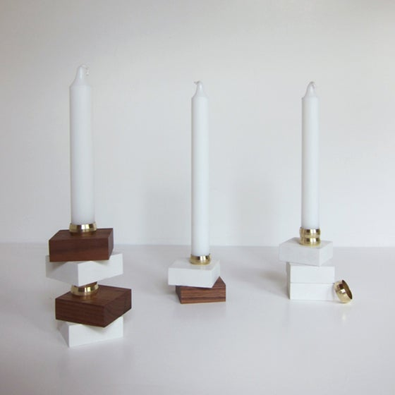Image of Elton Candle Holders