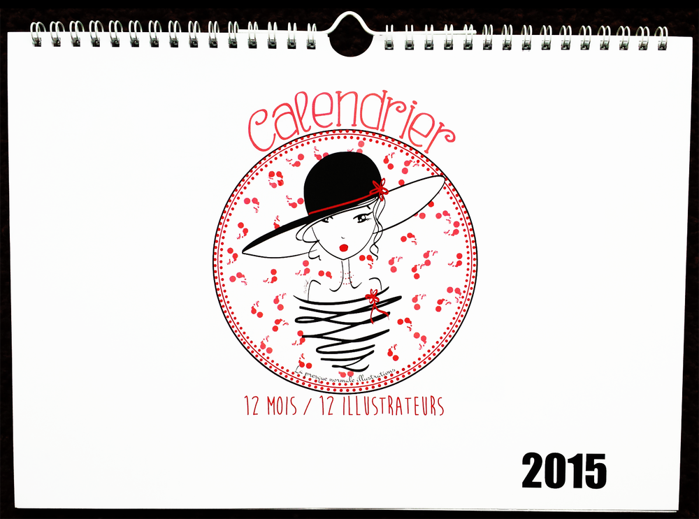 "Image of Calendrier 2015 ""12 mois 12 illustrateurs"""