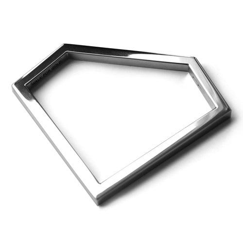 Image of DIAMOND SILVER BRACELET