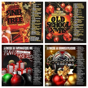 Image of RNB UNDER THE TREE VOL. 1 & 2 // OLD SCHOOL CHRISTMAS 1 & 2 COMBO PACK