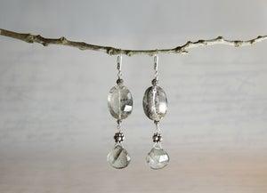 Image of Phantom Quartz Earrings