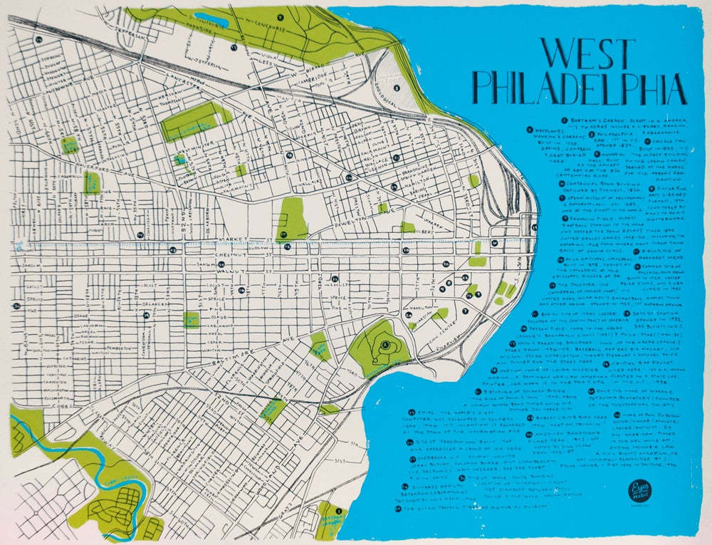 Image of The West Philly Map