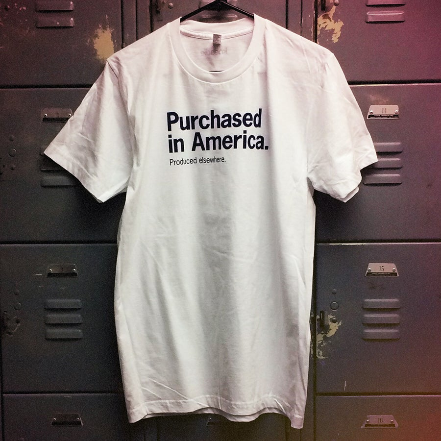 Image of Not Made Here Tee