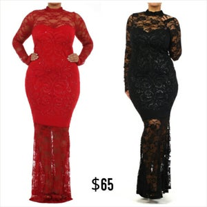 """Image of """"Touch of Class"""" Maxi Dress"""