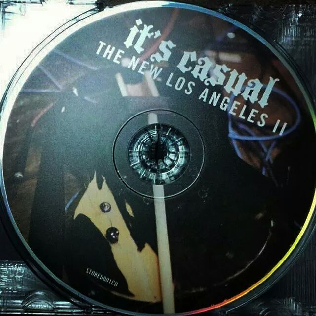"Image of It's Casual ""The New Los Angeles II"" CD"