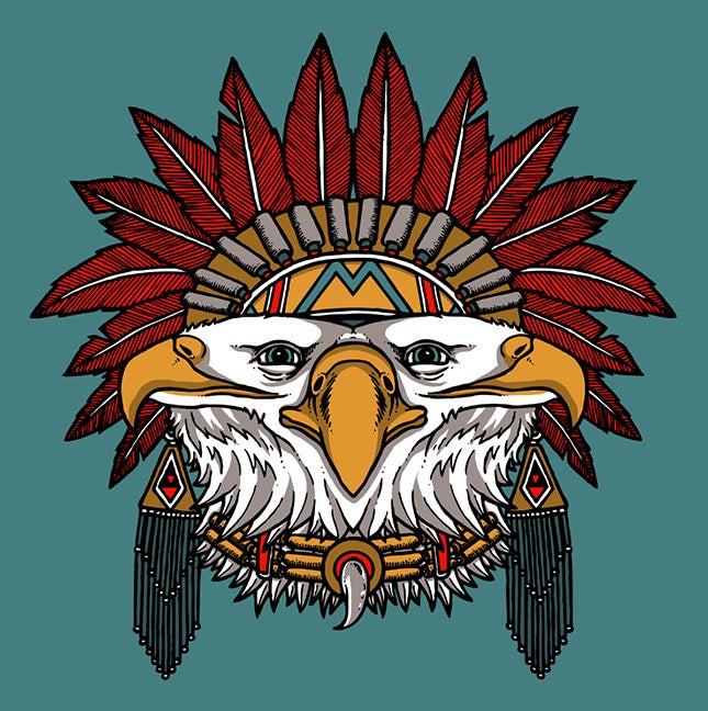"Image of ""EAGLE"" SPIRT ANIMAL shirt"