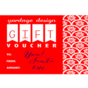 Image of Gift Voucher {various amounts}