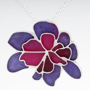 Image of Resinate Wisha Pendant- Purples