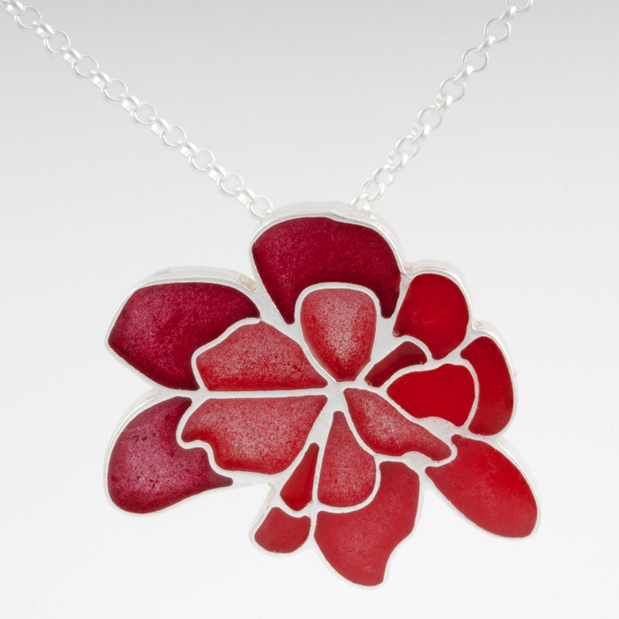 Image of Resinate Wisha Pendant-Reds