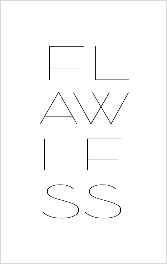 "Image of ""Flawless"" Print"