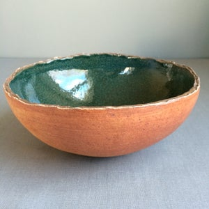 Image of Deep Green Wood-Fired Bowl