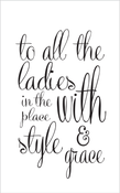 """Image of """"Style & Grace"""" Print"""