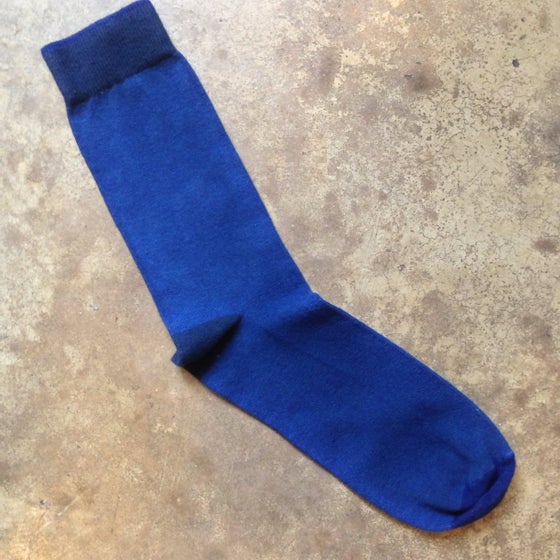 Image of Indigo hand dyed solid