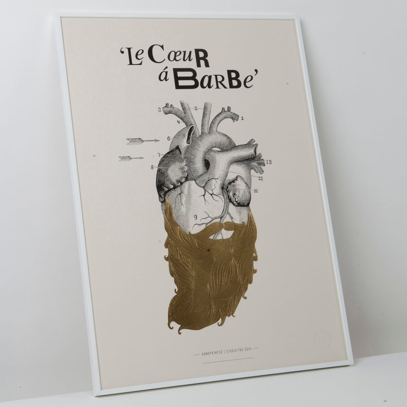 Image of Le Coeur a Barbe with gold beard