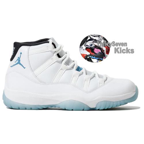 "Image of Jordan Retro 11 ""Legend Blue"""