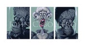 "Image of MARS ATTACKS Tryptic - ""Unexpected Company"" Limited Edition Giclée Print"
