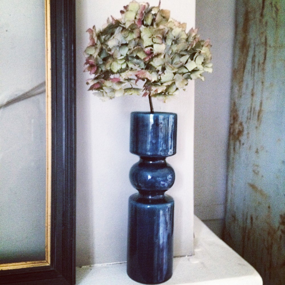 Image of AZUL vase quille vintage