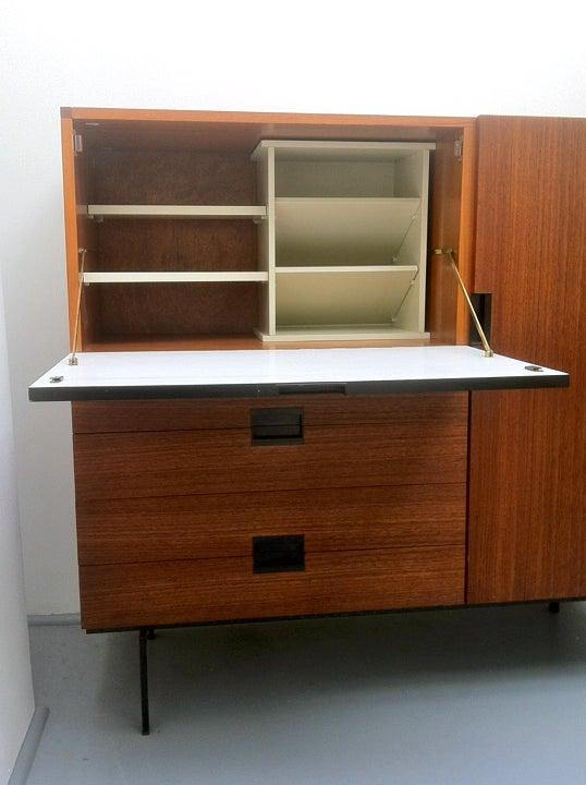 Image of 1950s Japanese Series Teak Cabinet
