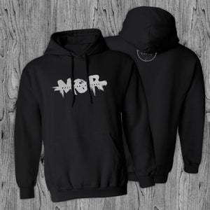 Image of M.O.R Black Hooded Sweatshirt