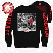 Image of Living legends - black CrewNeck