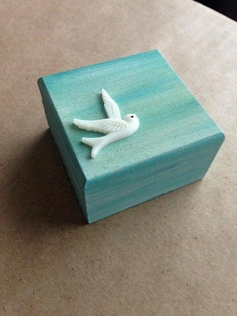 Image of Trinket Box - Swift (Mint Green)