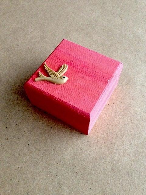 Image of Trinket Box - Swift (Red)