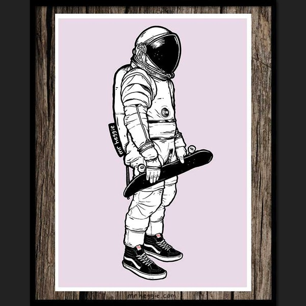 Image of the spaceman limited edition print