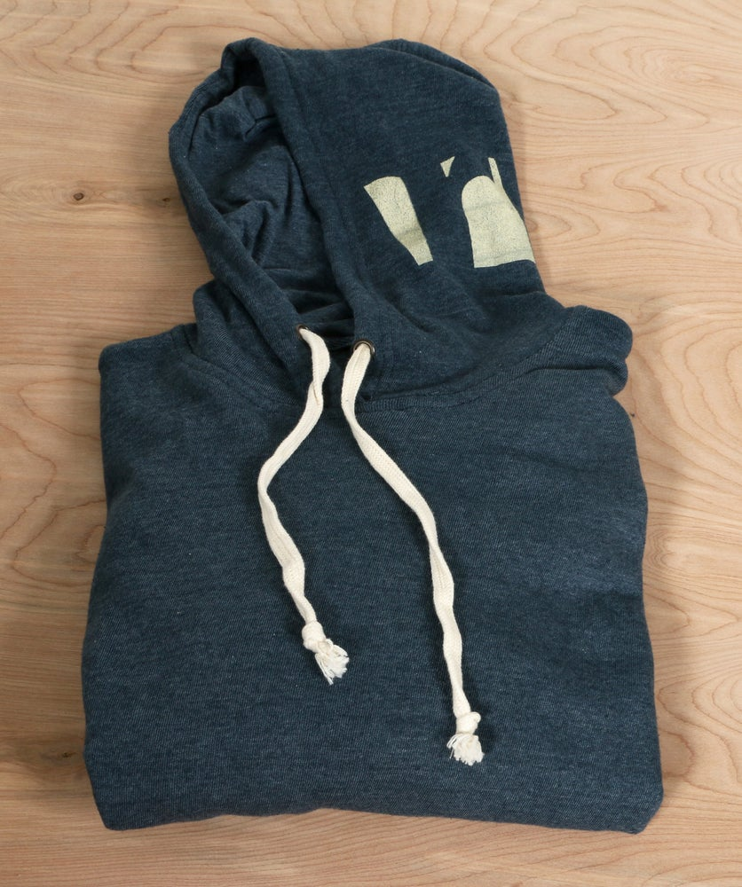 Image of Navy Riverzedge Pullover Hoodie