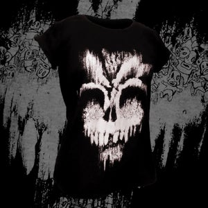 Image of 'Sweet Death' Female fitted t-shirt