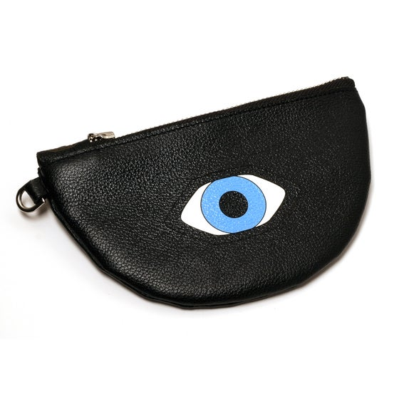 Image of Handpainted Evil Eye Pouch