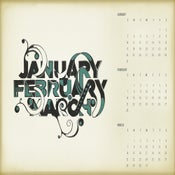 Image of January - February - March Single Poster