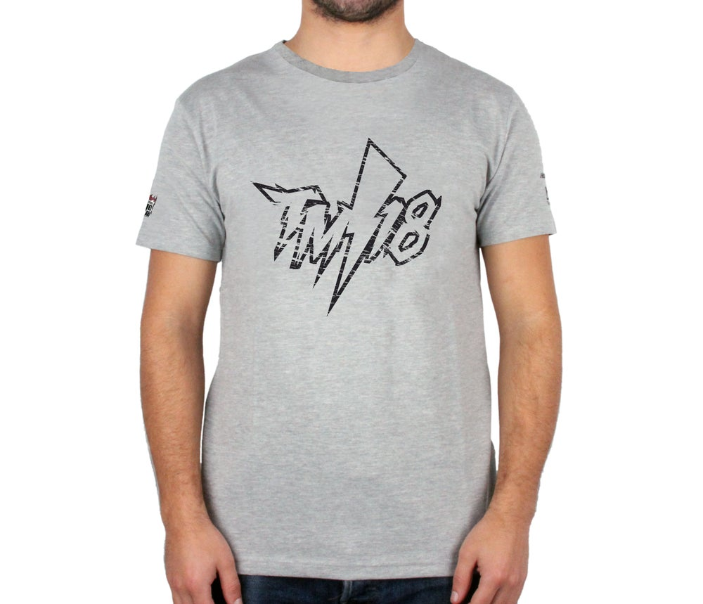 "Image of Tiago Monteiro Unisex ""Corrosive"" Crew neck T-Shirt"