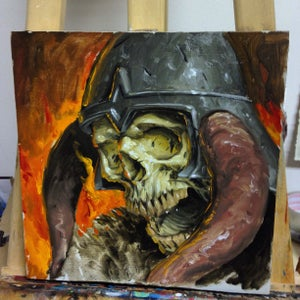 Image of Barbarian skull