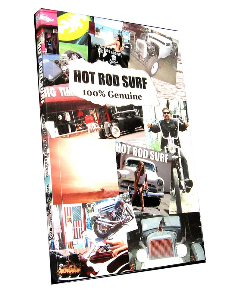 Image of HOT ROD SURF 100% Genuine Book by MWM