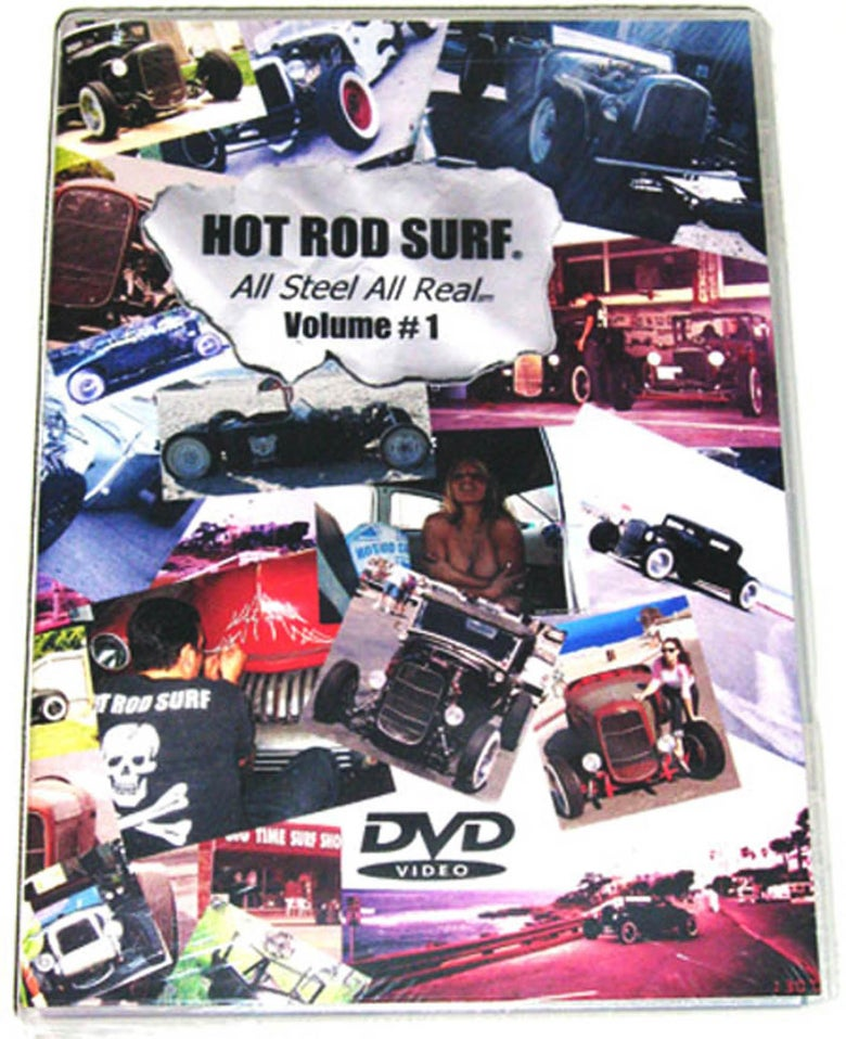 Image of Hot Rod Surf ® HOTRODSURF presents 'All Steel All Real' Volume 1  - DVD Movie