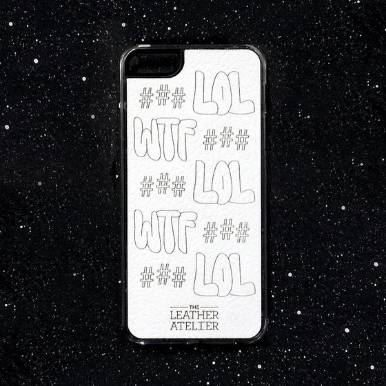 Image of # LOL # WTF # iphone case