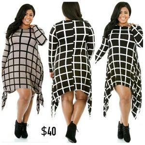 Image of Square Biz Dress(PREORDER)