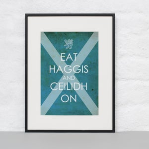 Image of Eat Haggis and Ceilidh On