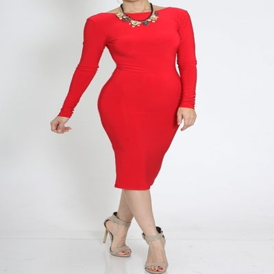 Image of Perfect Red Dress
