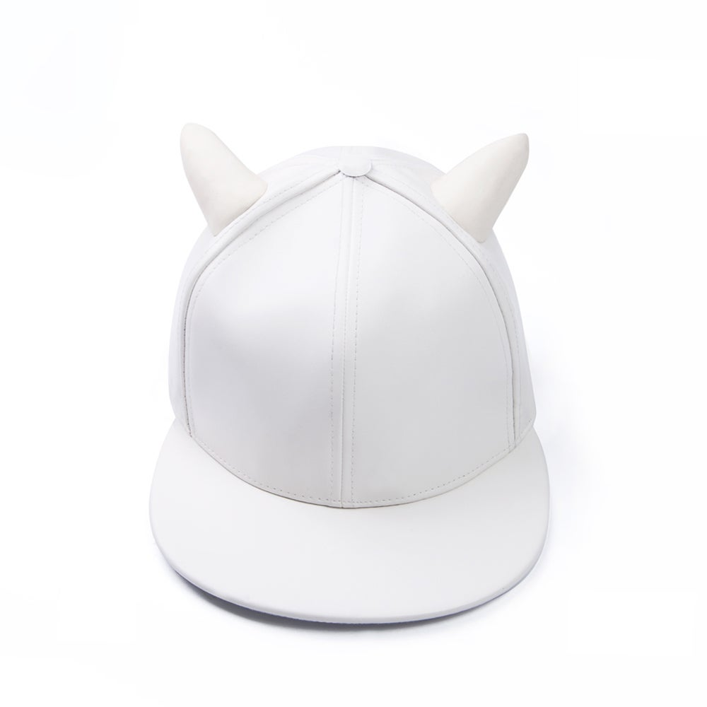 Image of Bull Cap (White)