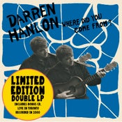 Image of Darren Hanlon - Where Did You Come From? Vinyl LP (FYI014V) LIMITED EDITION